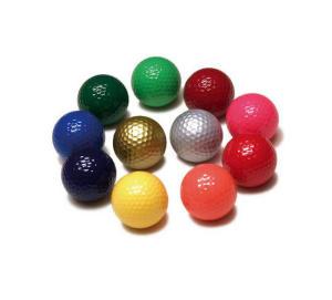 reklamní golfové míčky