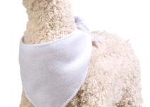 Měkká, plyšová mazlící lama
