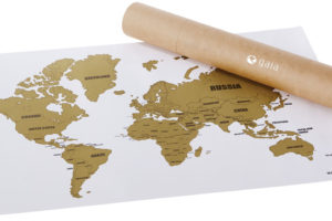 Stírací mapa