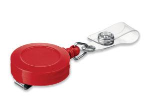 samonavíjecí držák s kovovým klipem