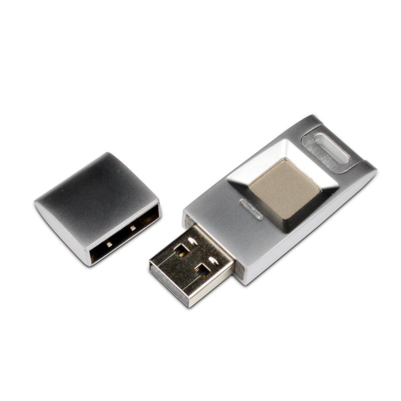 USB FLASH DISK – ZABEZPEČENÍ OTISKEM PRSTU