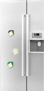 Bloček na lednici