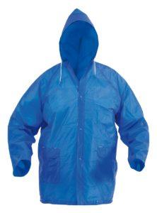 Pláštěnka na zip s kapucí