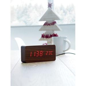 LED display s hodinami, budíkem a ukazatelem teploty