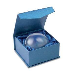 Těžítko - skleněná koule a lupa