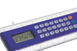 Pravítko s kalkulačkou