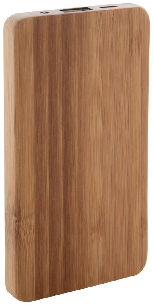 powerbanka z bambusu