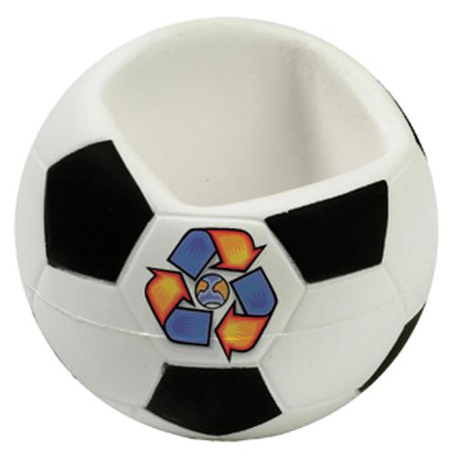 Antistres držák na mobil ve tvaru fobalového míče
