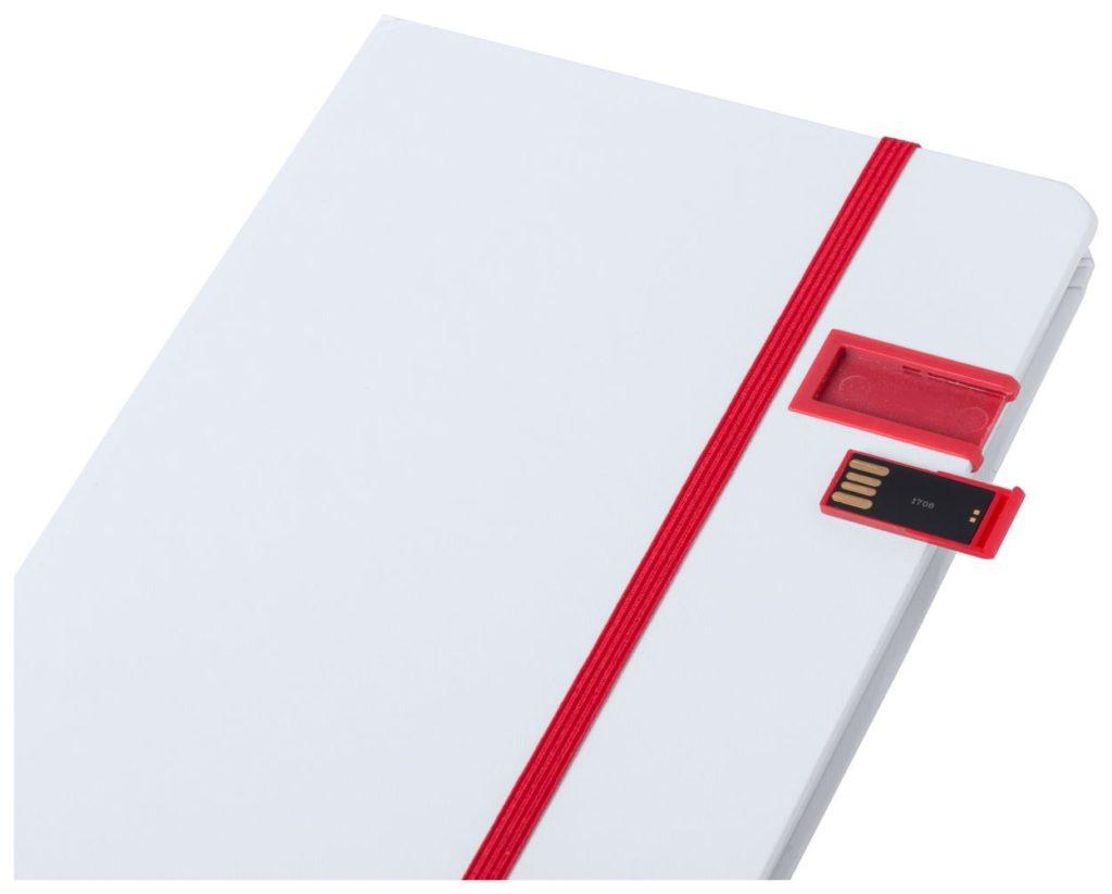 Blok s deskami a USB flash diskem