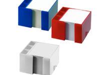 Box na poznámkové listy se zásobníkem na tužky 2 v 1