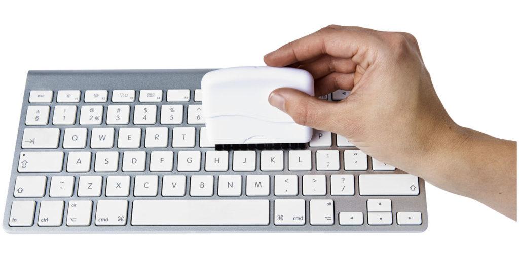 Reklamní metla na počítač