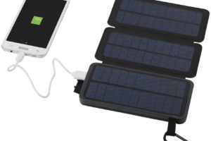 Solární powerbanka se dvěma panely, 8 000 mAh
