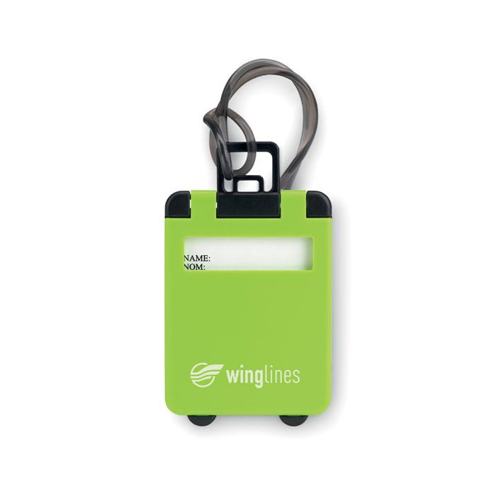 plastová jmenovka na zavazadla