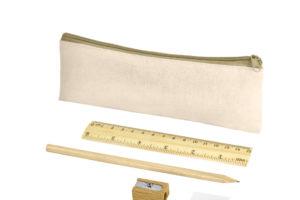 ECO Sada tužky, pravítka, ořezávátka a gumy