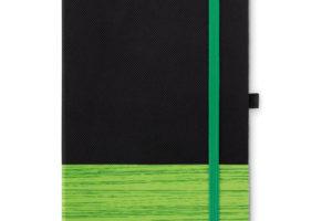 A5 zápisník z deskami z netkané textilie