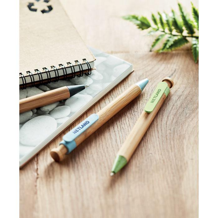 Bambusovo slámová propiska