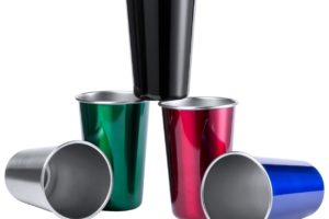 Barevný pohárek z nerez oceli