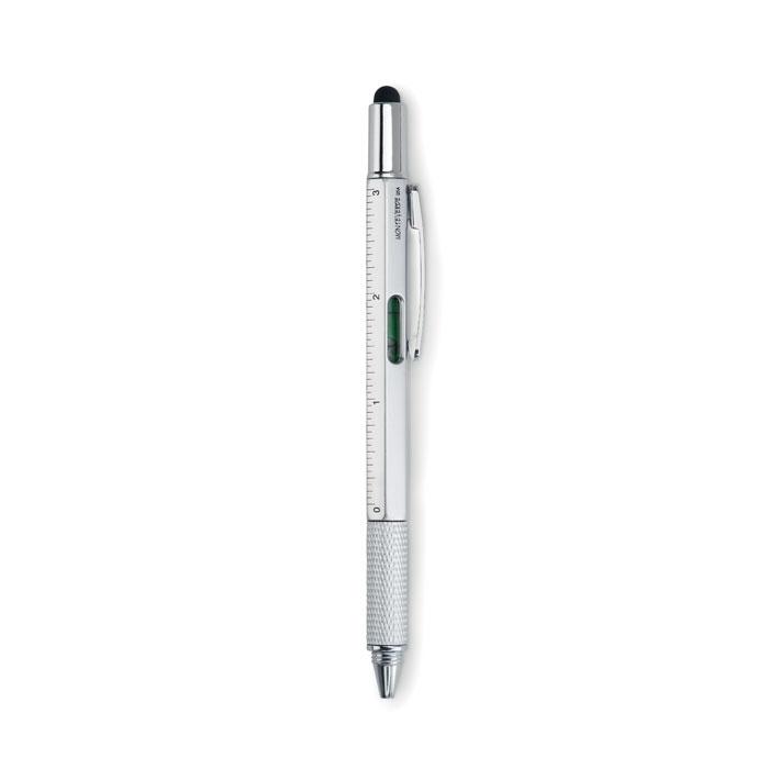 Otočné pero s vodováhou