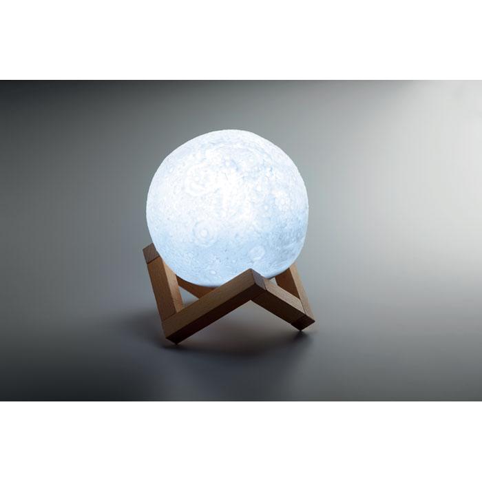 Bluetooth reproduktor ve tvaru Měsíce