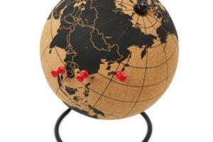 Globus z korku se stojánkem_