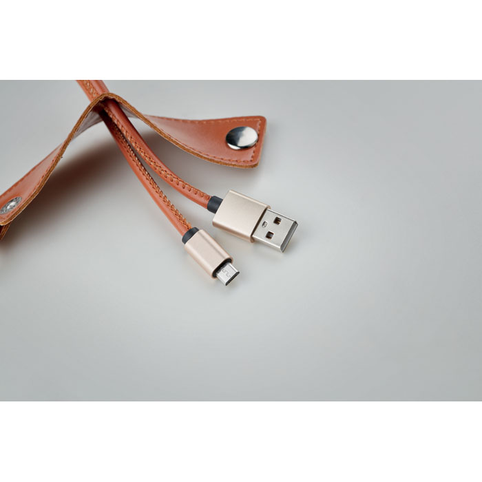 Klíčenka s micro-B USB 2A nabíjecí kabel