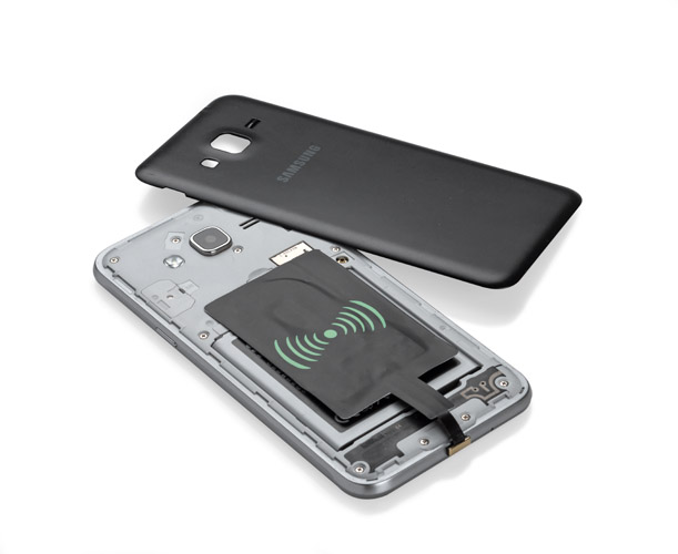 Micro USB adaptér s funkcí indukčního nabíjení