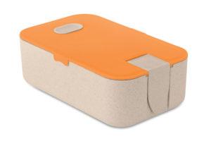 Obědová krabička vyrobená z pšeničné slámy a PP