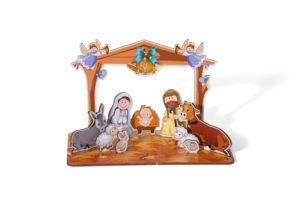Vánoční dekorace, výzdoba - Betlém