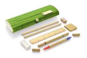 Reklamní bambusový penál