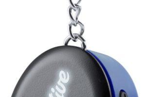 Bluetooth reproduktor s přívěškem na klíče