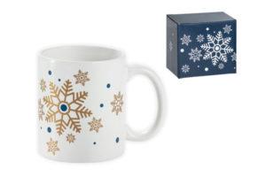Keramický hrnek s vánočním motivem