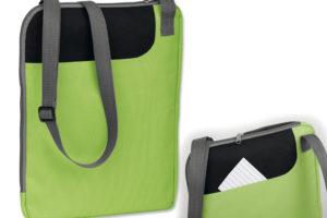 Polyesterová taška na dokumenty s popruhem přes rameno