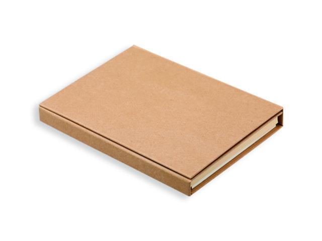 Psací blok s lepicími papírky, kuličkovým perem, 2 tužkami, pravítkem