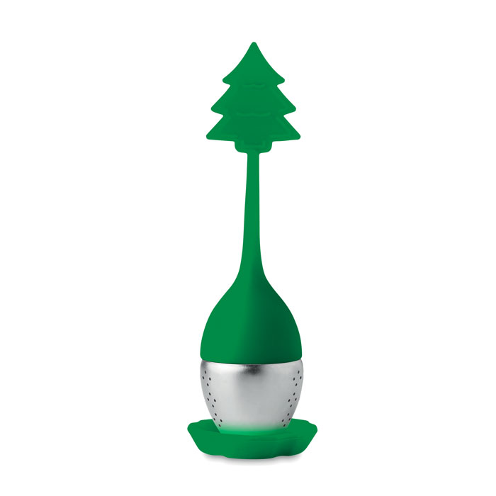 Silikonové čajové filtry s vánočním motivem
