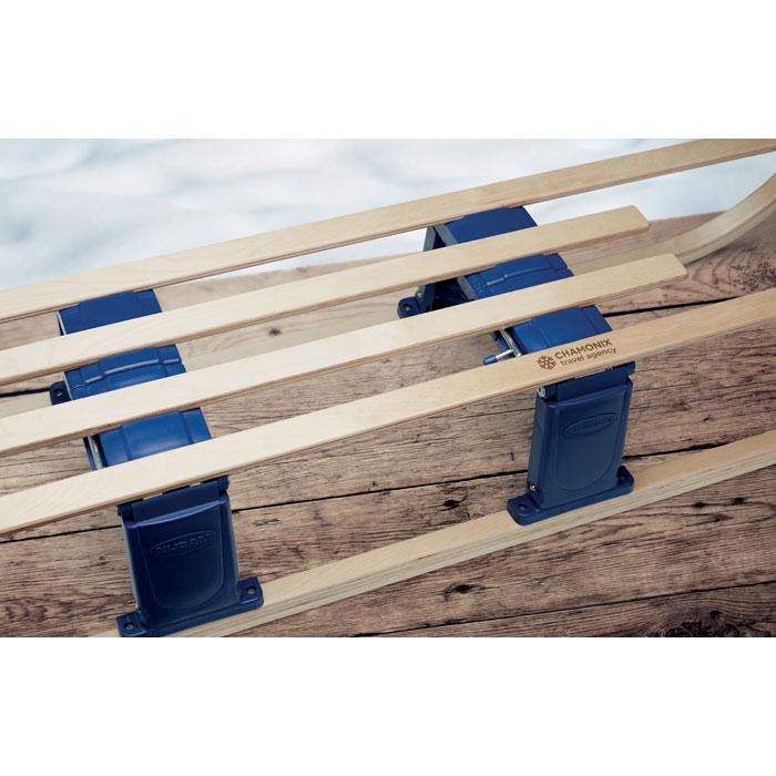 Skládací sáňky z javorového dřeva