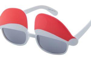 Reklamní sluneční brýle s vánočním motivem
