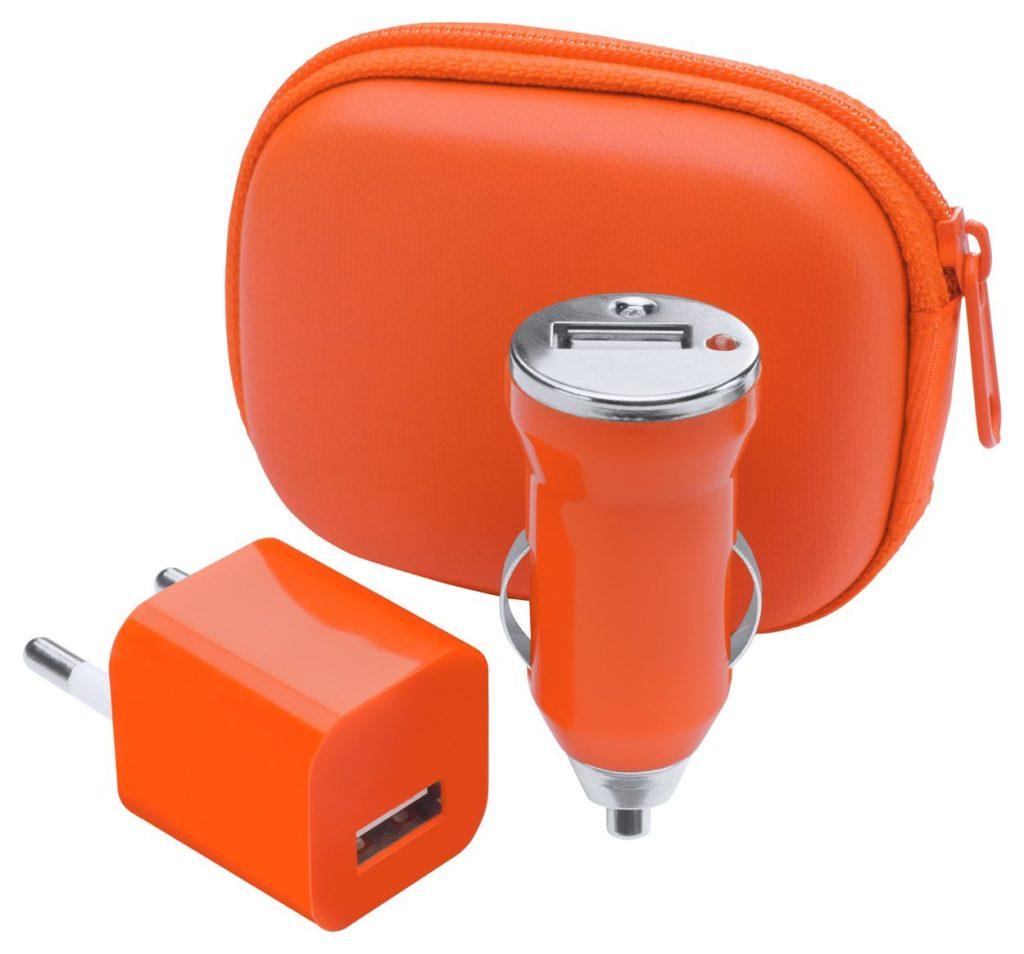 USB nabíječka v pouzdru