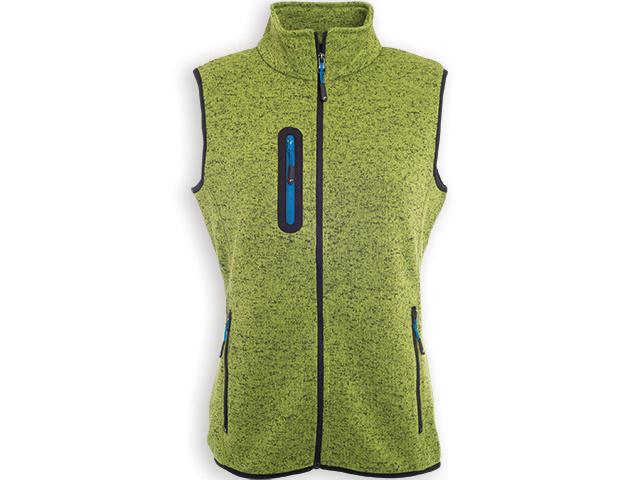 Celopropínací vesta s kapsami na zip
