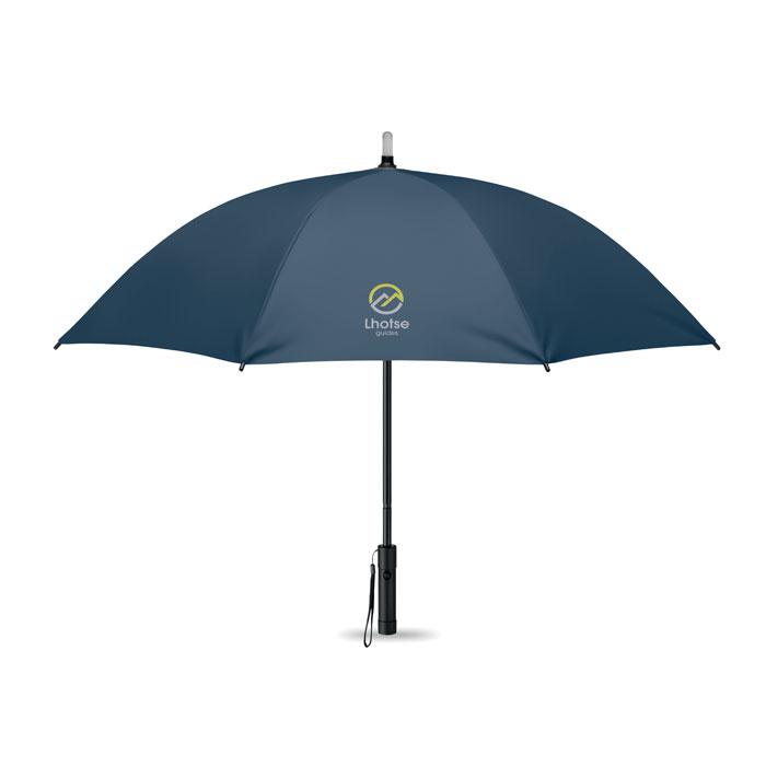 Manuální deštník s LED světlem