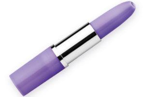 kuličkové pero ve tvaru rtěnky