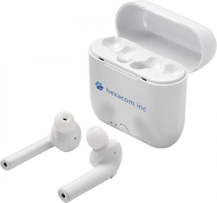 Bezdrátová sluchátka s pouzdrem
