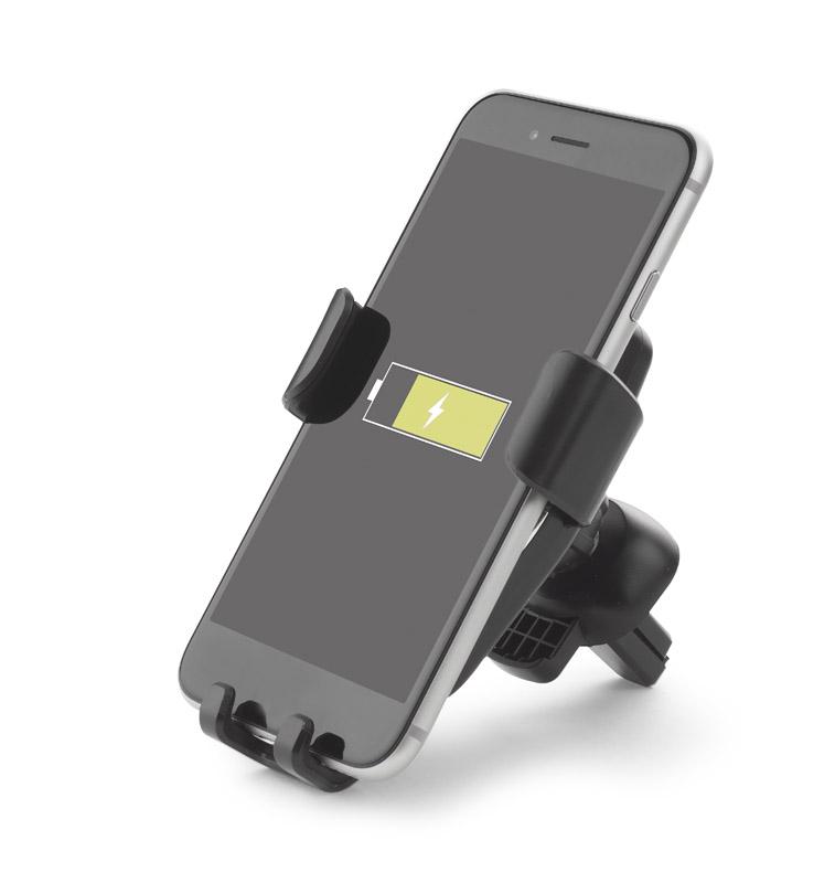 Držák na telefon s indukční nabíječkou