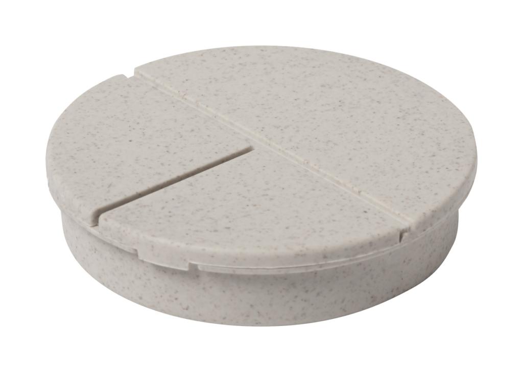 Kulatý box na pilulky se 3 přihrádkami