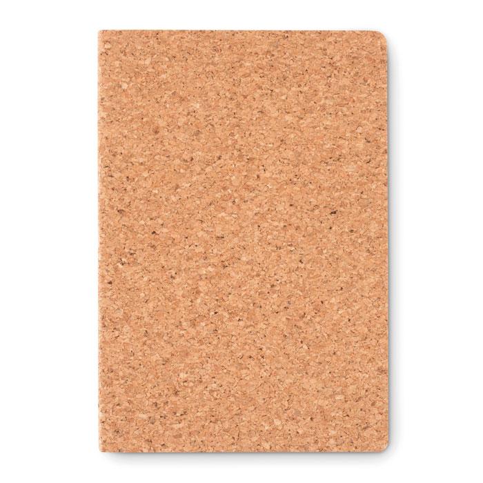 Reklamní A5 zápisník s korkovým povrchem