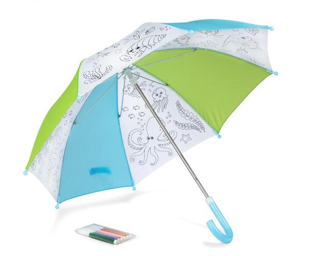 Omalovánkový deštník pro děti