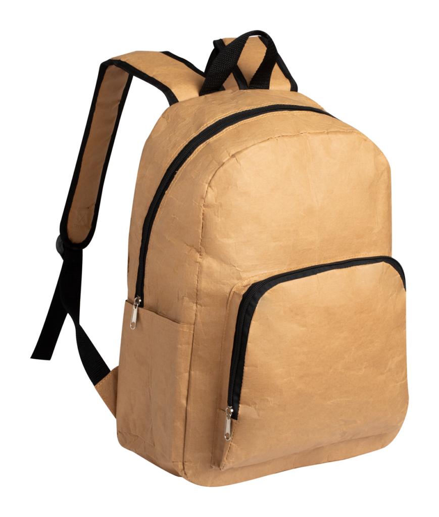 Papírový batoh s kapsami