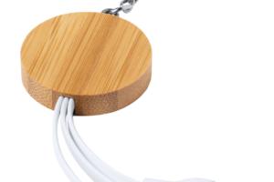 USB nabíjecí kabel s přívěškem na klíče