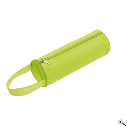 Kulaté pouzdro na tužky se zipem a držadlem