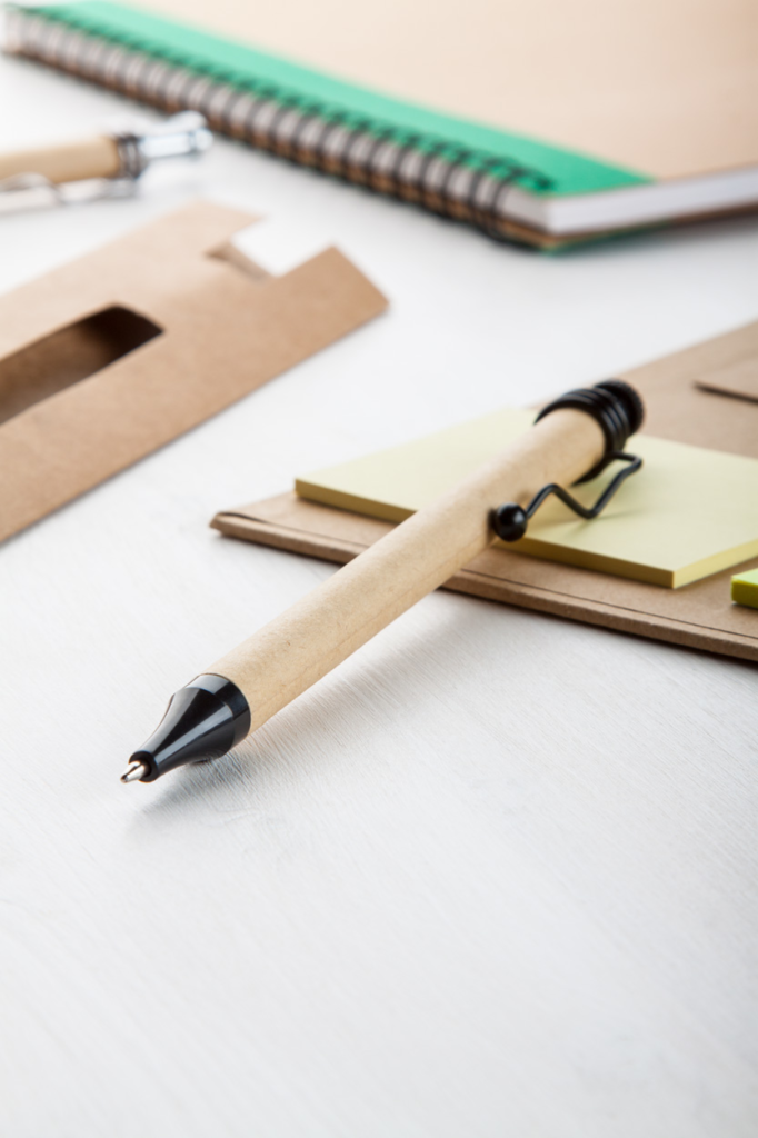 Reklamní kuličkové pero s obalem