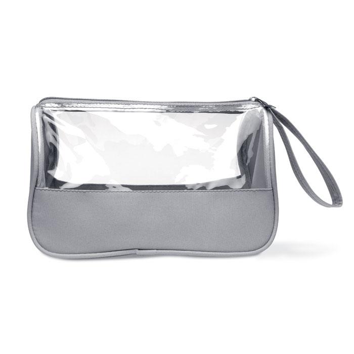 Toaletní taška z mikrovlákna s rukojetí